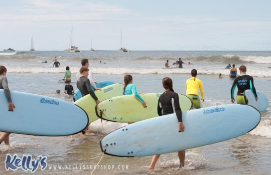 Surf lessons and camps for any skill level