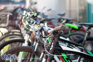 Unlimited use of beach cruisers with any package