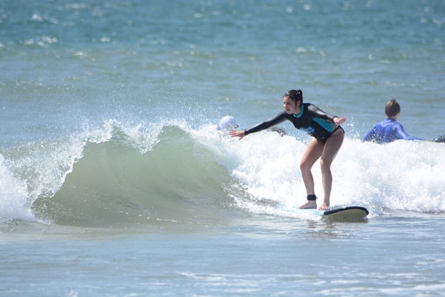Private surf lessons will guarantee to have you catching many waves