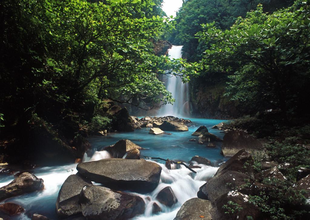 Rio Celeste water color