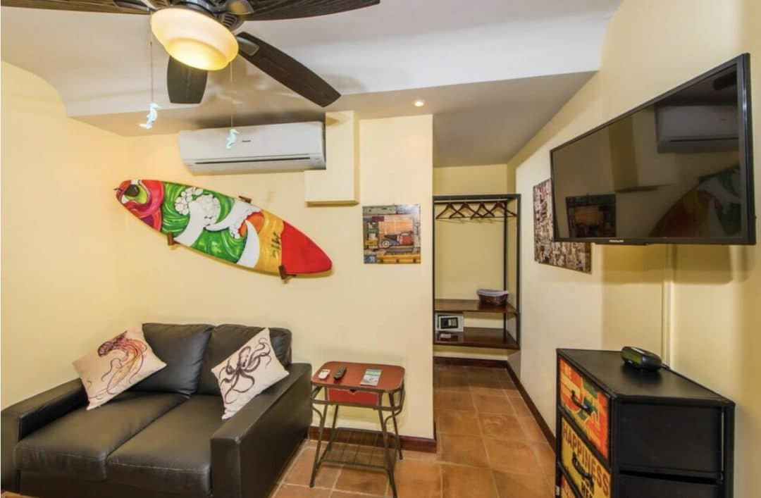 Living Room and Closet