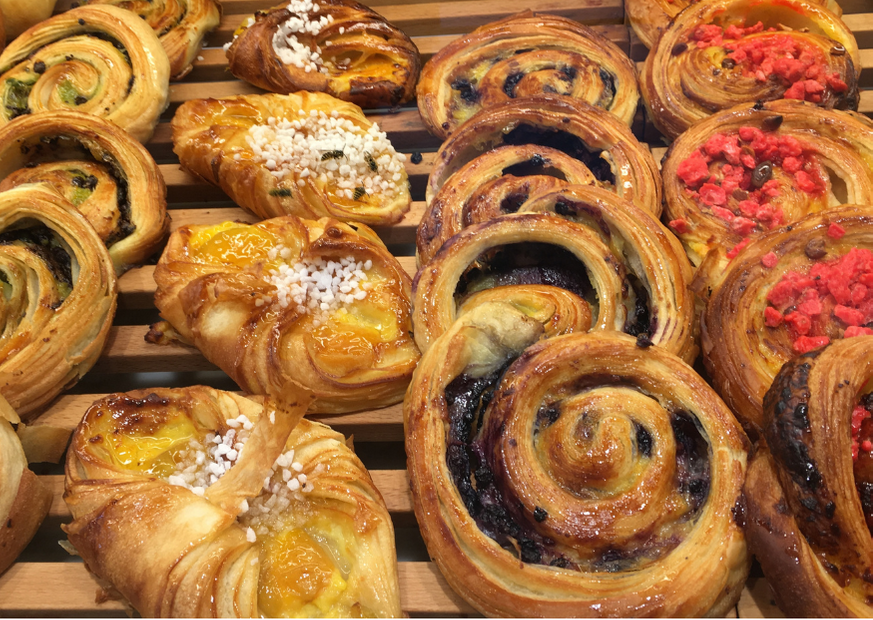 French pastries in Tamarindo
