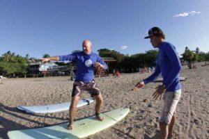 private surf lesson tamarindo costa rica